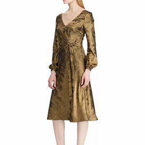 Lauren Ralph Lauren NWT gold dress